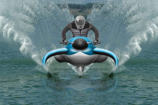 Jet Ski Hydrofoil Dolphin