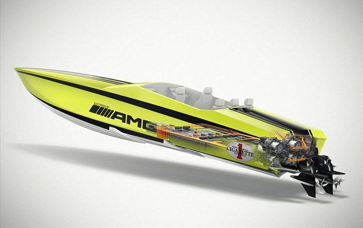 La bateau électrique le plus rapide du monde